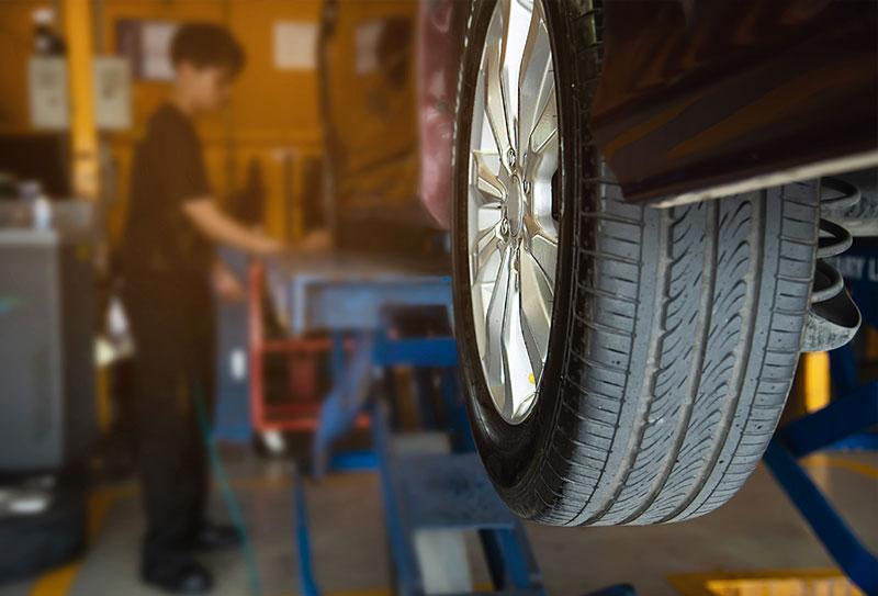 Reifenwechsel-Reifenwechsel